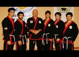 Equipo de Dalmadaesa en Brasil con Maestro Francisco Taboada. Febrero 2008.